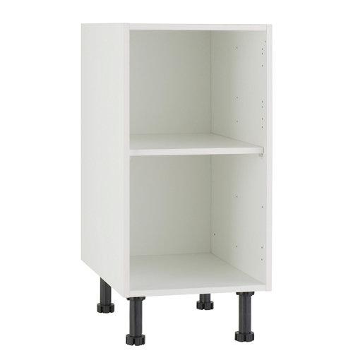 Mueble bajo cocina delinia blanco 40 x 70 cm (ancho x alto)
