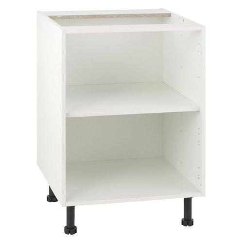 Mueble bajo cocina delinia blanco 60 x 70 cm (ancho x alto)