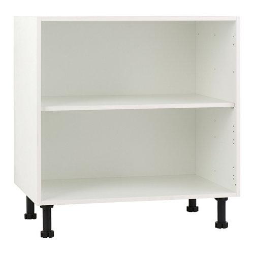 Mueble bajo cocina delinia blanco 80 x 70 cm (ancho x alto)