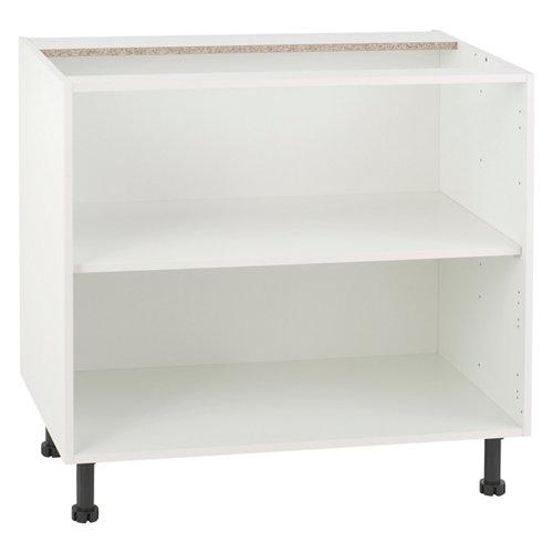 Mueble bajo cocina delinia blanco 90 x 70 cm (ancho x alto)