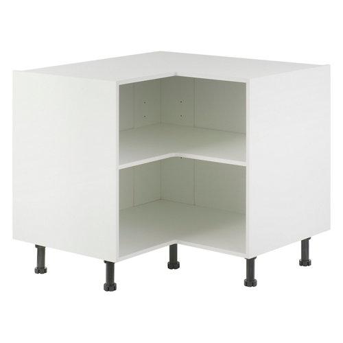Mueble bajo rincón delinia blanco 95 x 70 cm (ancho x alto)