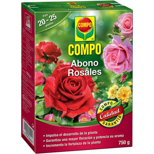 Abono para rosales compo con micro elementos 750gr