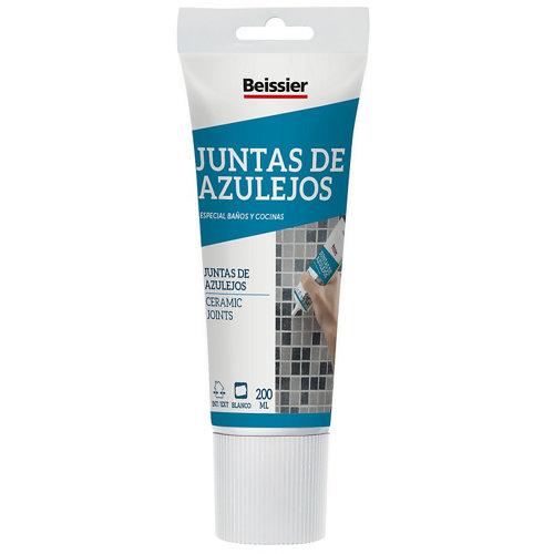 Masilla para juntas de azulejos beissier 200ml blanco