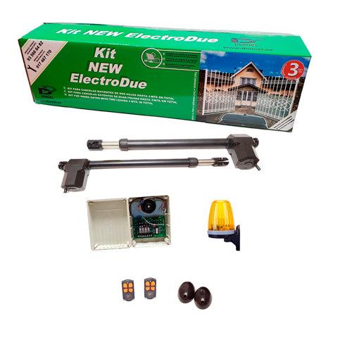 Motor para puertas de garaje batientes dimoel new electrodue