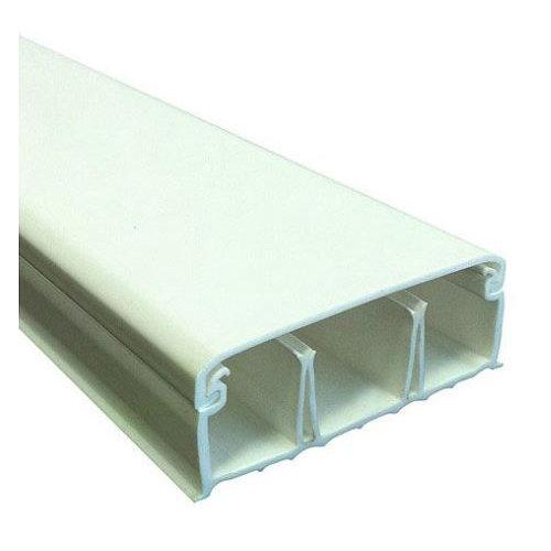 Canaleta tehalit blanca 20x50 mm de 2 metros