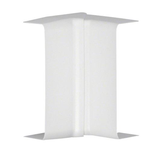 Pack de 2 ángulos interiores tehalit blancos 20x50 mm