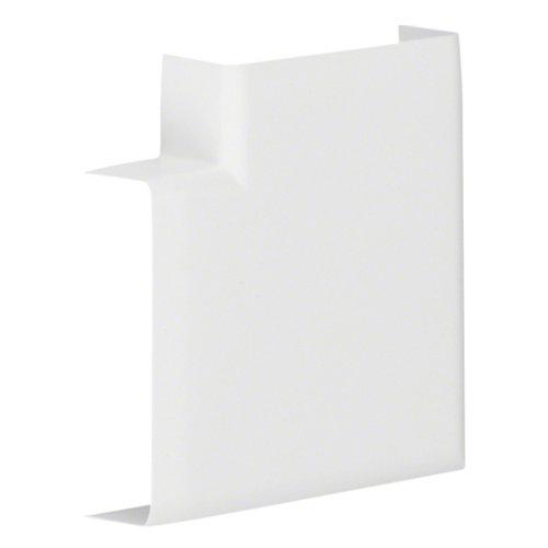 Pack de 2 ángulos planos tehalit blancos 12x20 mm