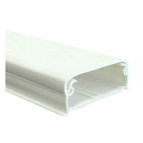 Canaleta blanca 12x30 mm 2 metros longitud