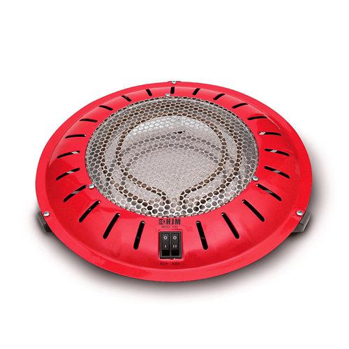 Brasero eléctrico con termostáto hjm-100 900 w