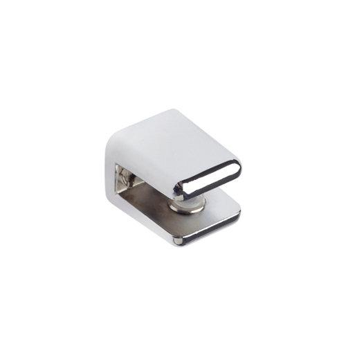 2 soporte clip para balda para baldas de 6 mm y 10 kg de carga máx