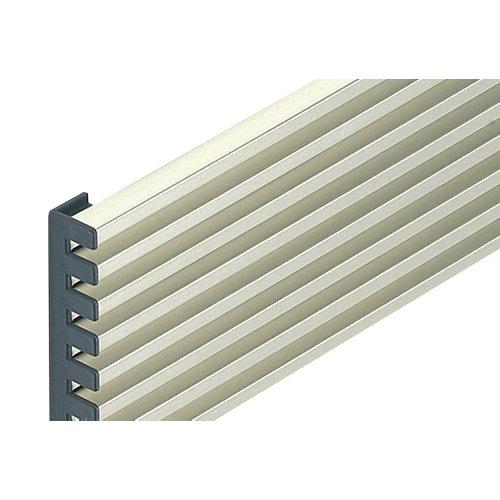 Rejillas de ventilación horno o frigo de aluminio de 59.8x12.4 cm