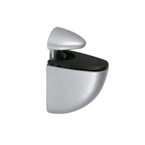 2 soporte clip para balda para baldas de 24 mm y 25 kg de carga máx