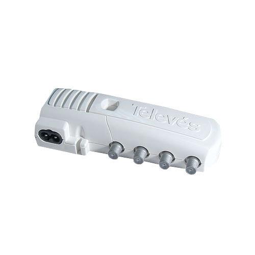 Amplificador de señal de tv televés 4385 de 2 salidas