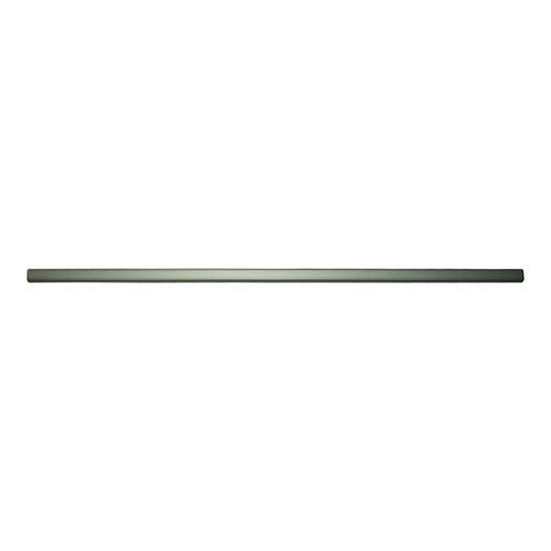 Barra armario ovalada de 200 m de largo y 30 x 15 mm ø