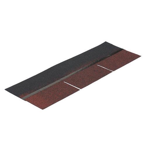Tégola asfáltica standard rojo castilla 1000x1050x3,5 mm