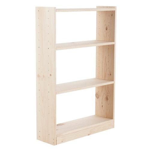 Estantería de madera gala de 80x120,7x25 cm