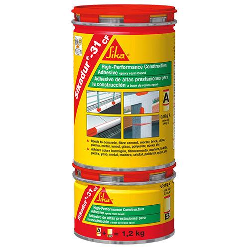 Adhesivo de construcción gris sikadur 31 ef 1,2 kg