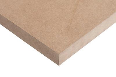 Tablero de MDF crudo 122x244x3 cm (anchoxaltoxgrosor)