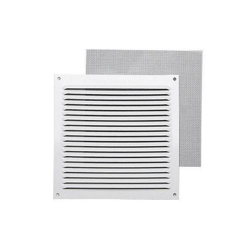 Rejilla de ventilación de aluminio lacado de 17x17x0.8 mm