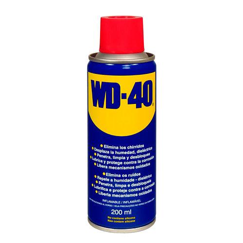 Lubricante multiusos wd-40 de 200 ml