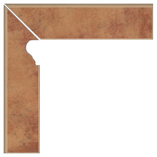 Zanquín izquierdo serie colonial 8x33 cm albero