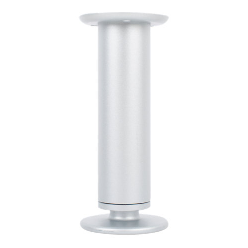 2 pata regulable de aluminio para mueble hasta 15.5 cm