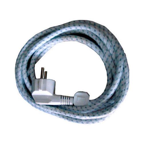Cable eléctrico textil h03rt-f para plancha 3x1 mm² 2 m