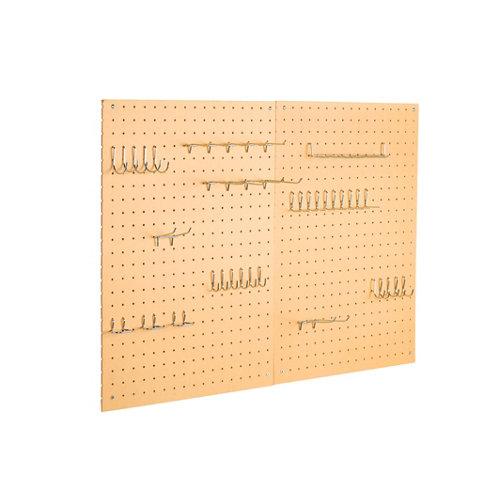 Panel portaherramientas de madera 600x600 mm