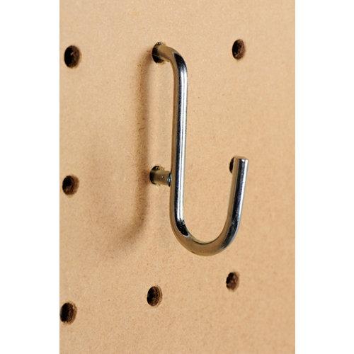 Gancho de acero de 11x13x2 cm