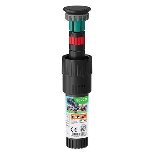 """Microaspersor 2"""" claber bajo consumo con angulo de trabajo fijo 180°"""