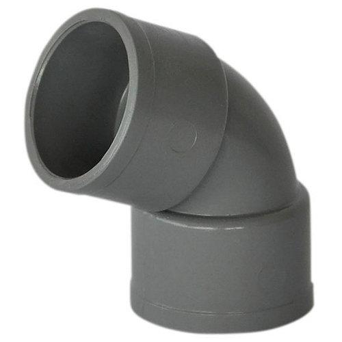 Codo de pvc de ø32 mm 67º h-h
