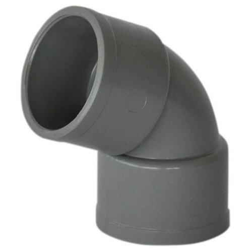 Codo de pvc de ø40 mm 67º h-h