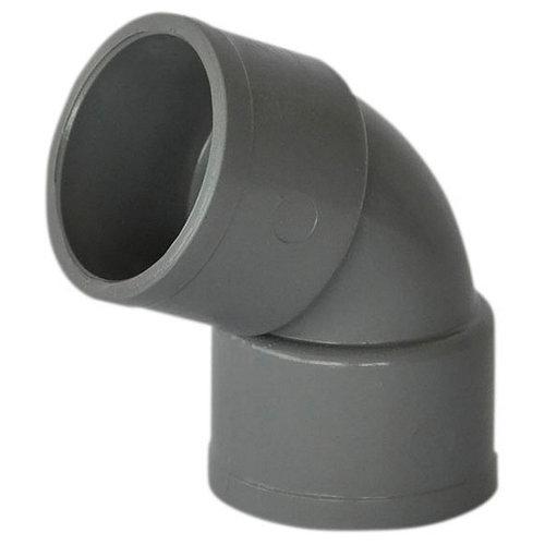 Codo de pvc de ø50 mm 67º h-h