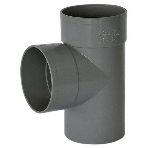 Injerto de pvc de ø40 mm 87º h-h