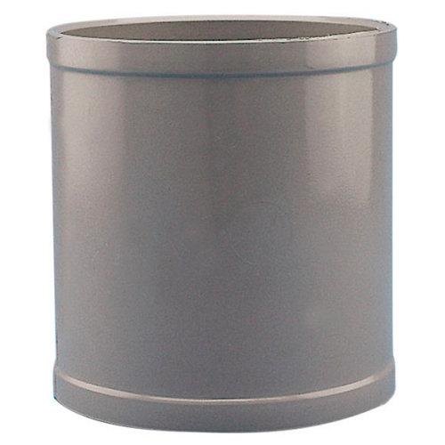 Manguito de pvc de ø50 mm h-h