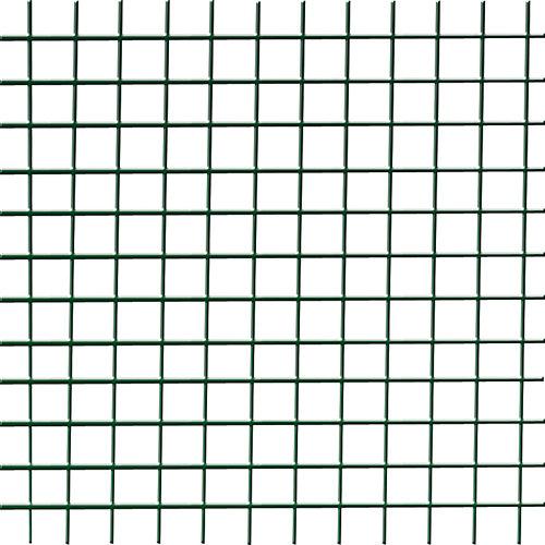 Malla metálica electrosoldada de acero galvanizado 0.5x5m
