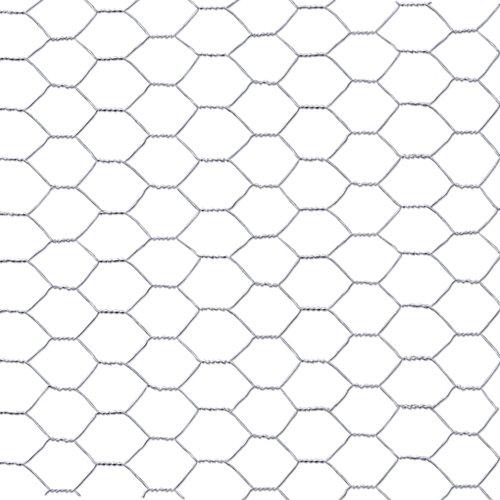 Malla metálica de simple torsión de acero galvanizado 0.5x10m
