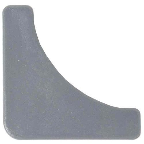 4 pie de plástico para estantería de 40x40 mm