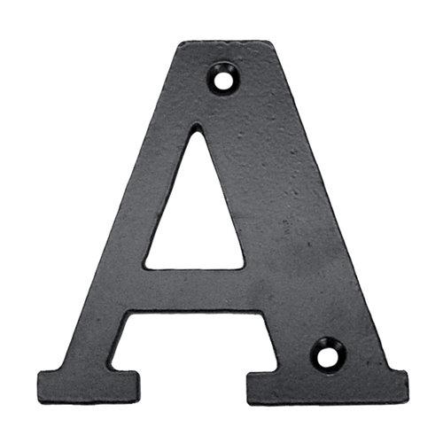 Letra de señalización de puerta de acero