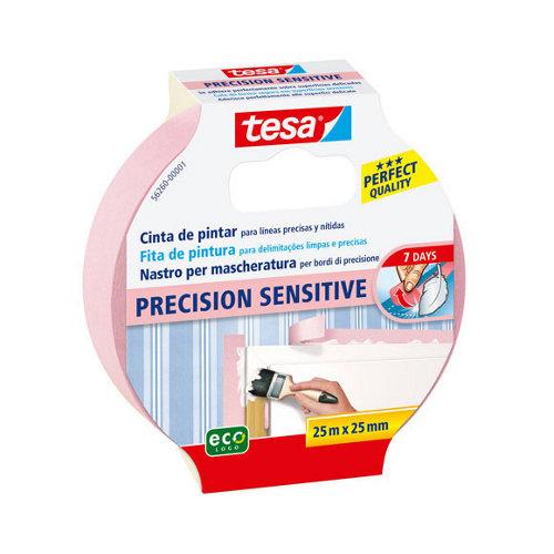 Cinta de pintor precision sensitive tesa 25mx25mm