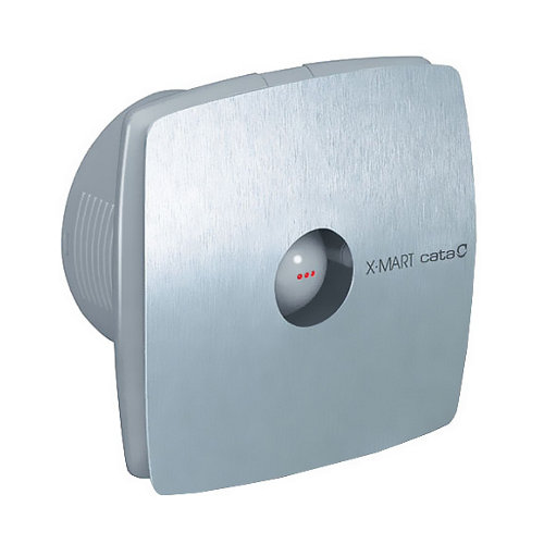 Extractor de baño x-mart 100 matic inox