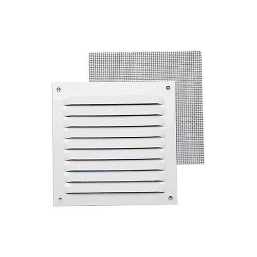 Rejilla de ventilación de aluminio lacado de 10x10x0.8 mm