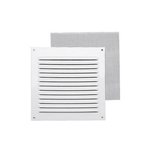 Rejilla de ventilación de aluminio lacado de 15x15x0.6 mm