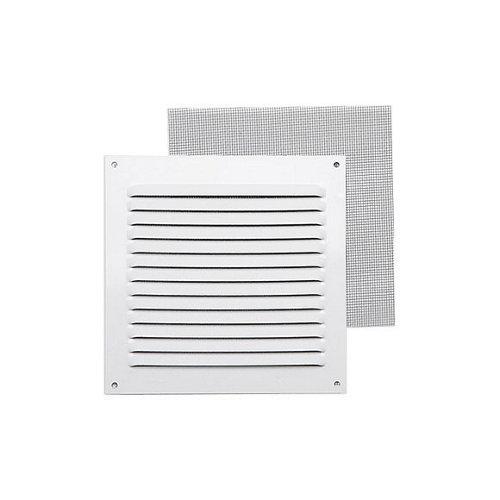 Rejilla de ventilación de aluminio lacado de 15x15x0.8 mm