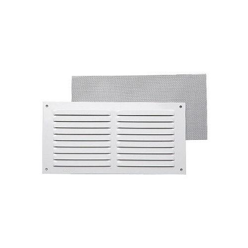 Rejilla de ventilación de aluminio lacado de 30x15x0.8 mm