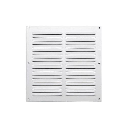 Rejilla de ventilación de aluminio lacado de 20x20x0.6 mm
