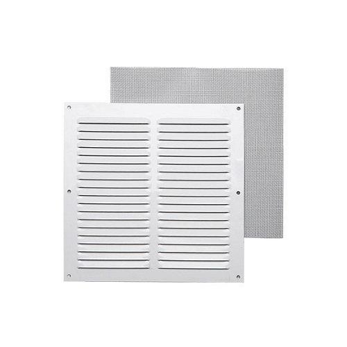 Rejilla de ventilación de aluminio lacado de 20x20x0.8 mm