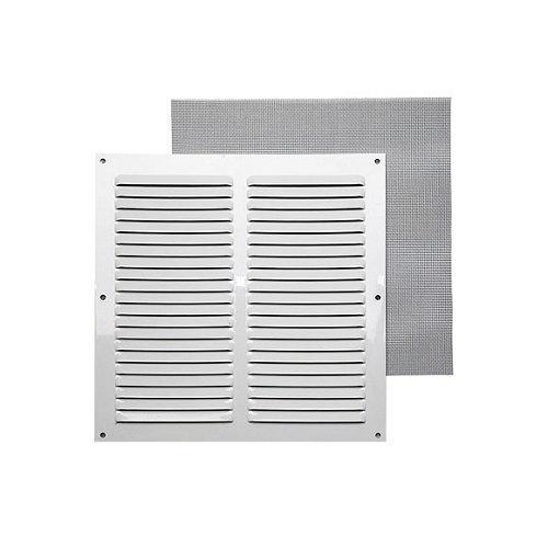 Rejilla de ventilación de aluminio lacado de 25x25x0.8 mm