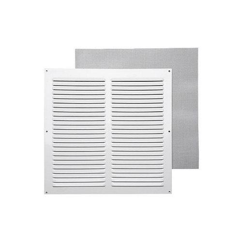 Rejilla de ventilación de aluminio lacado de 30x30x0.8 mm