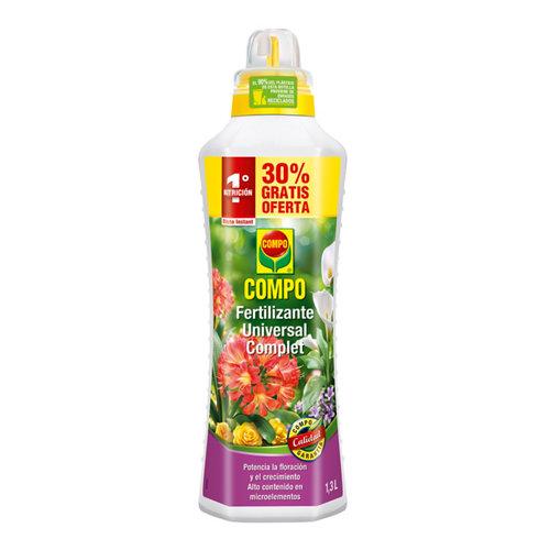 Fertilizante universal compo para todo tipo de plantas interior y terraza 1,3l